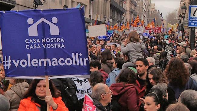 La Generalitat juga amb els refugiats