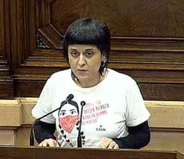 Anna Gabriel vol un Govern sense Santi Vila