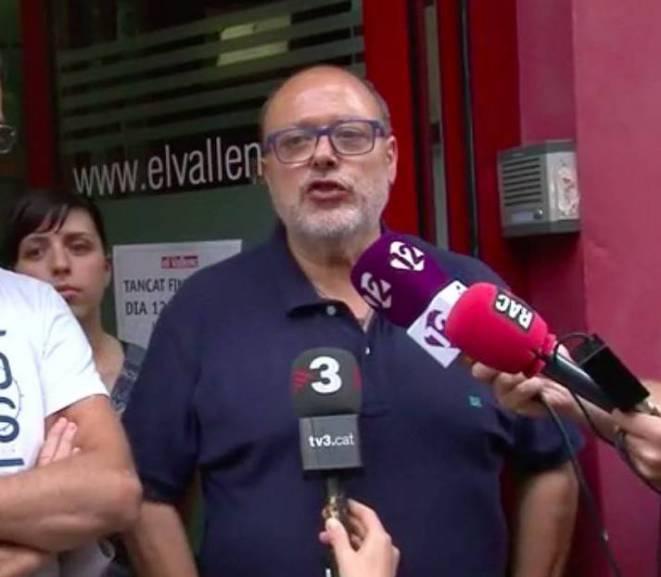 El director d'El Vallenc, el 'rei' de les subvencions