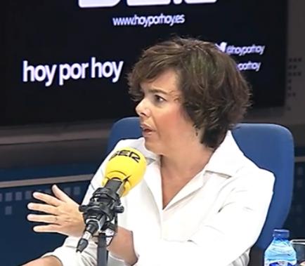 Sáenz de Santamaría garanteix un 1-O sense urnes
