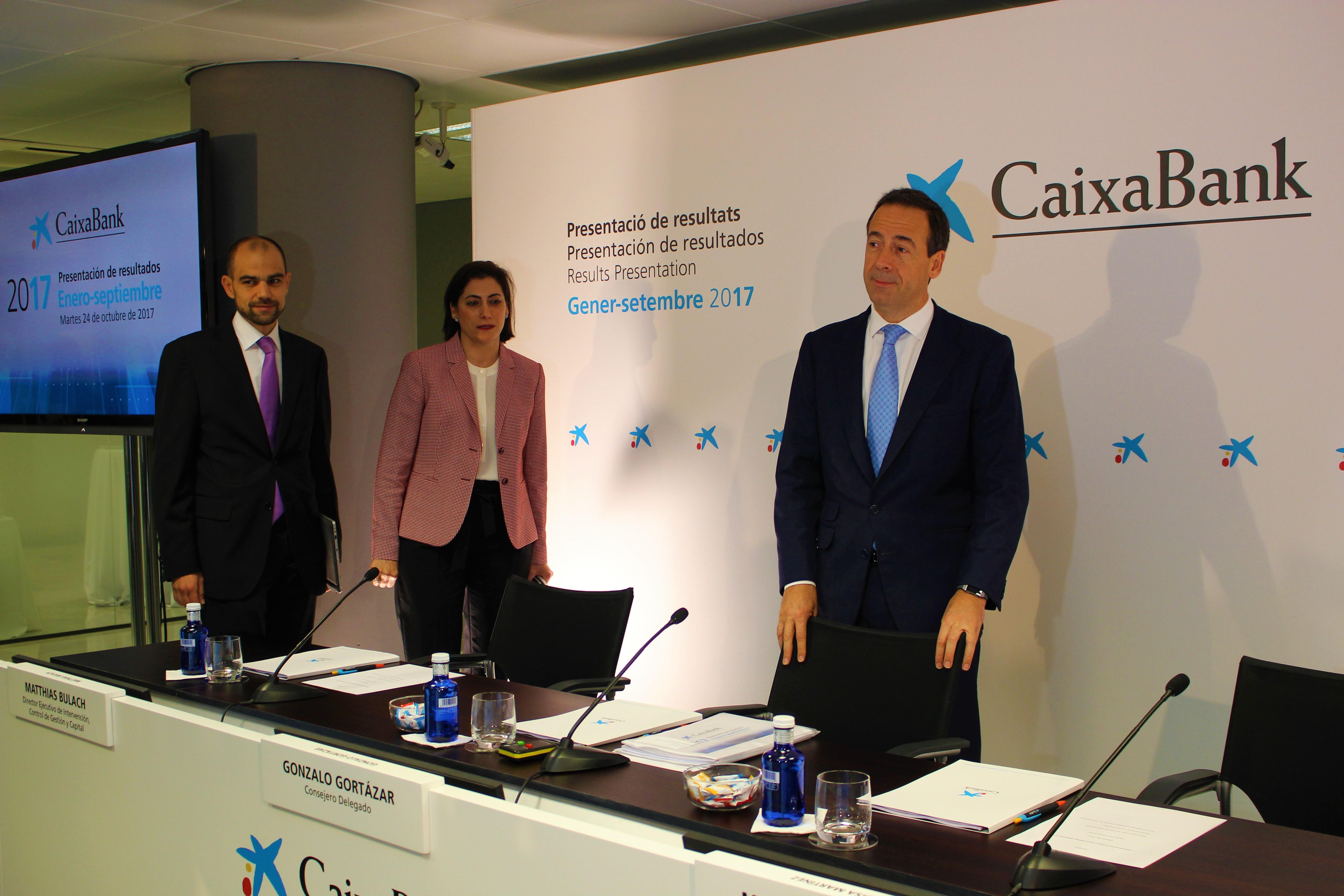 CaixaBank presenta un resultat rècord