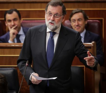 """Rajoy defensa el 155 com """"l'única resposta possible"""""""