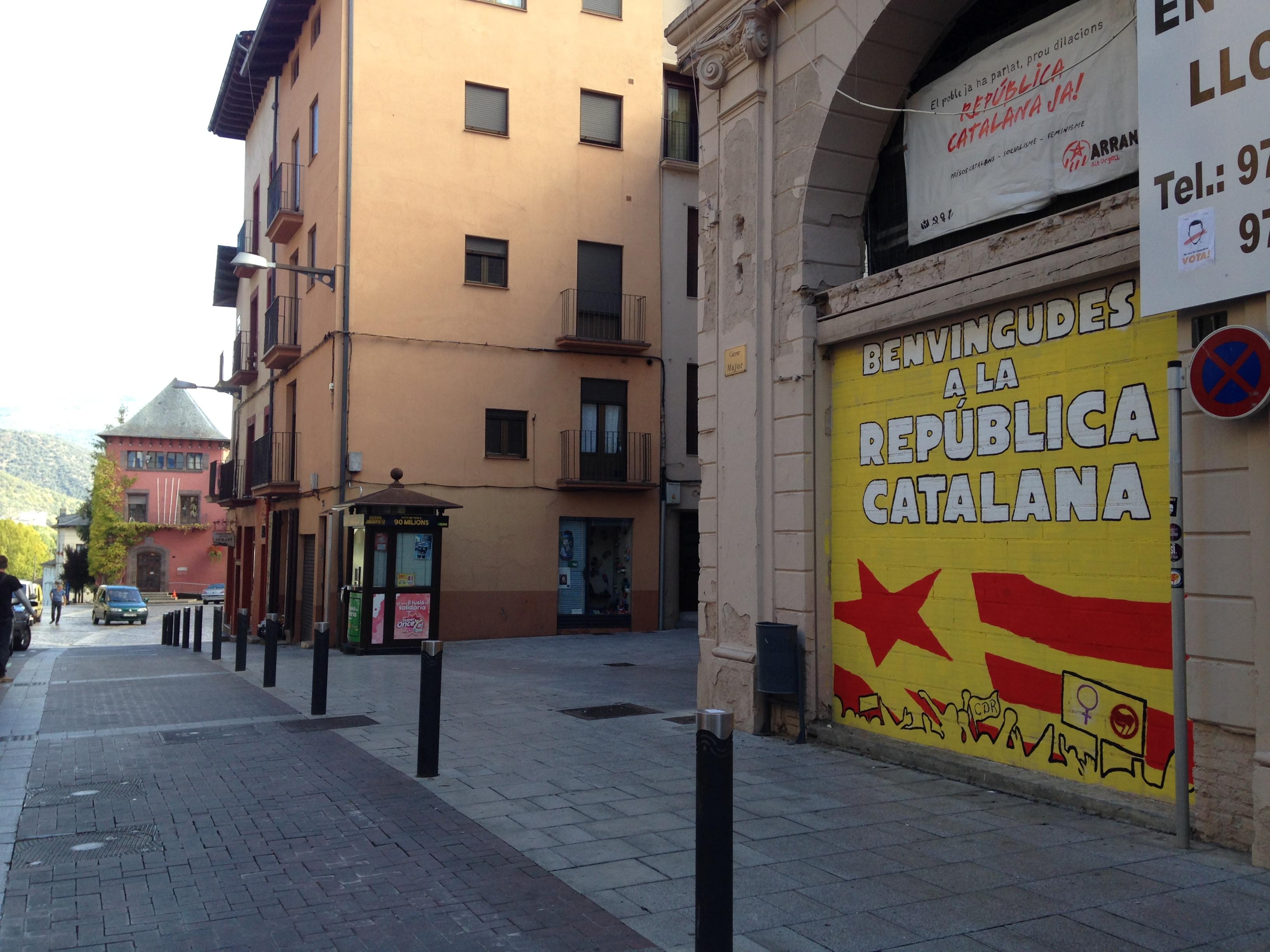 La Seu dóna 'la benvinguda a la República Catalana' als  visitants
