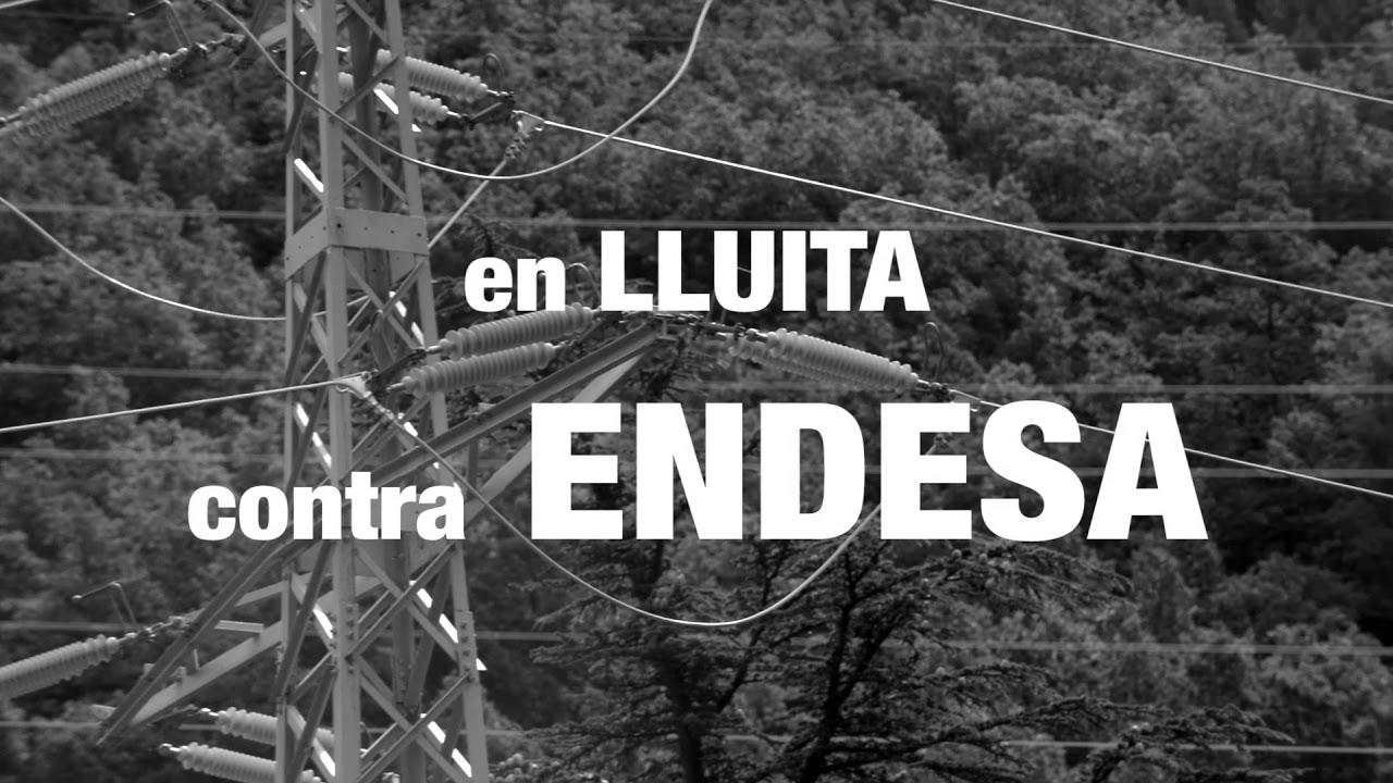 Marxa a la Vall Fosca en suport als veïns acusats d'impagament per Endesa