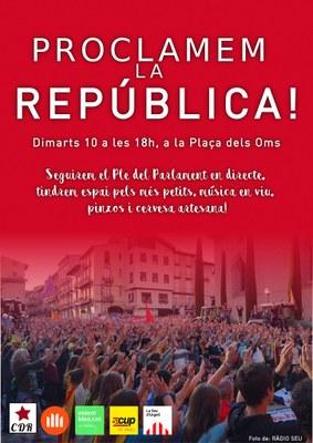 La Seu celebra avui 'la proclamació de la República' sense Albert Batalla