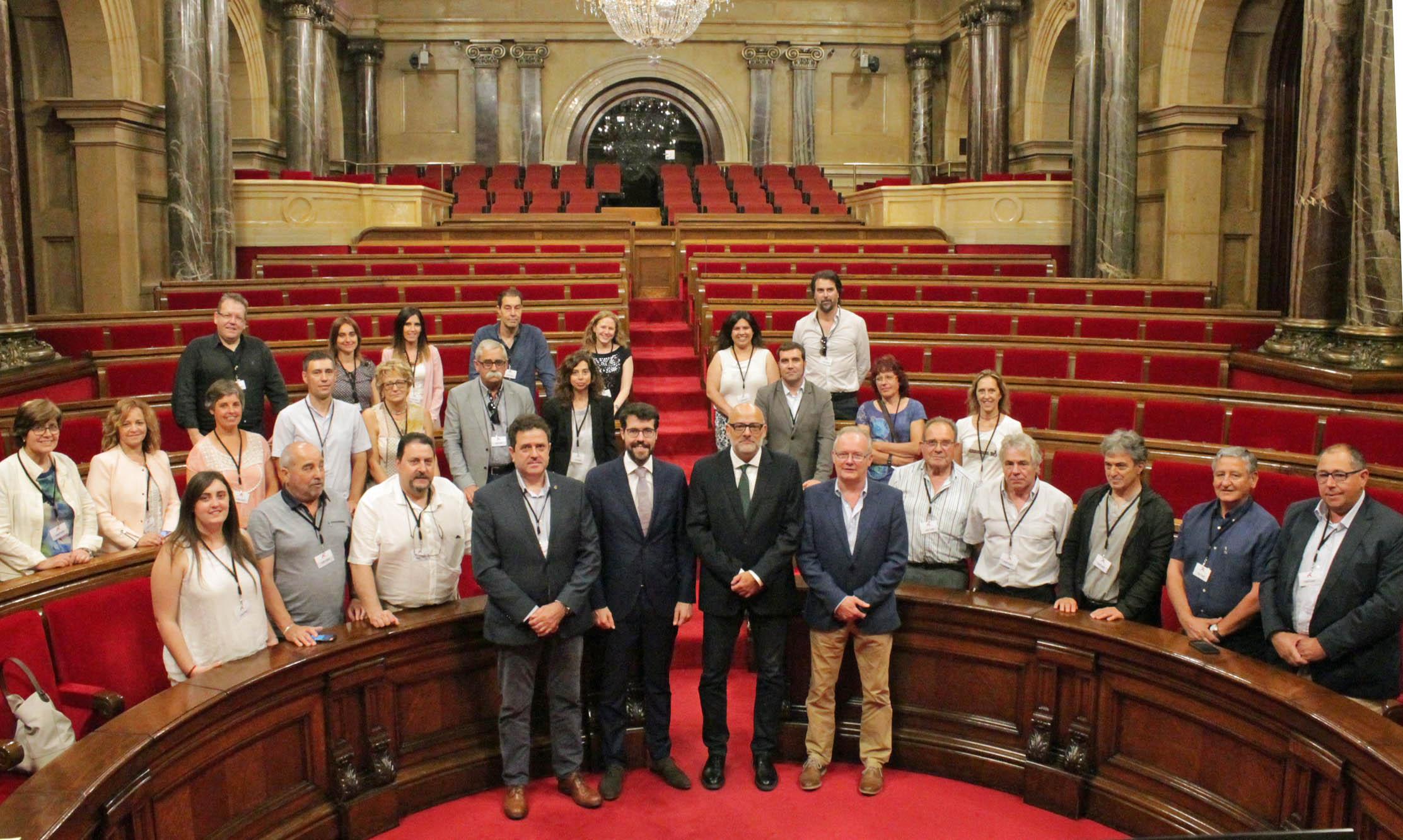 Els alcaldes de l'Alt Urgell fan un viatge a Brussel·les per reunir-se