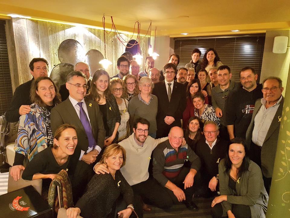 Treballadors del Consell Comarcal de l'Alt Urgell s'uneixen a la festa de Brussel·les