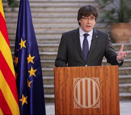 Puigdemont es retrata