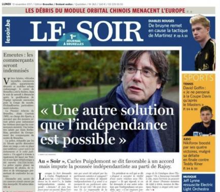 """Puigdemont veu """"possible"""" una solució dins d'Espanya"""