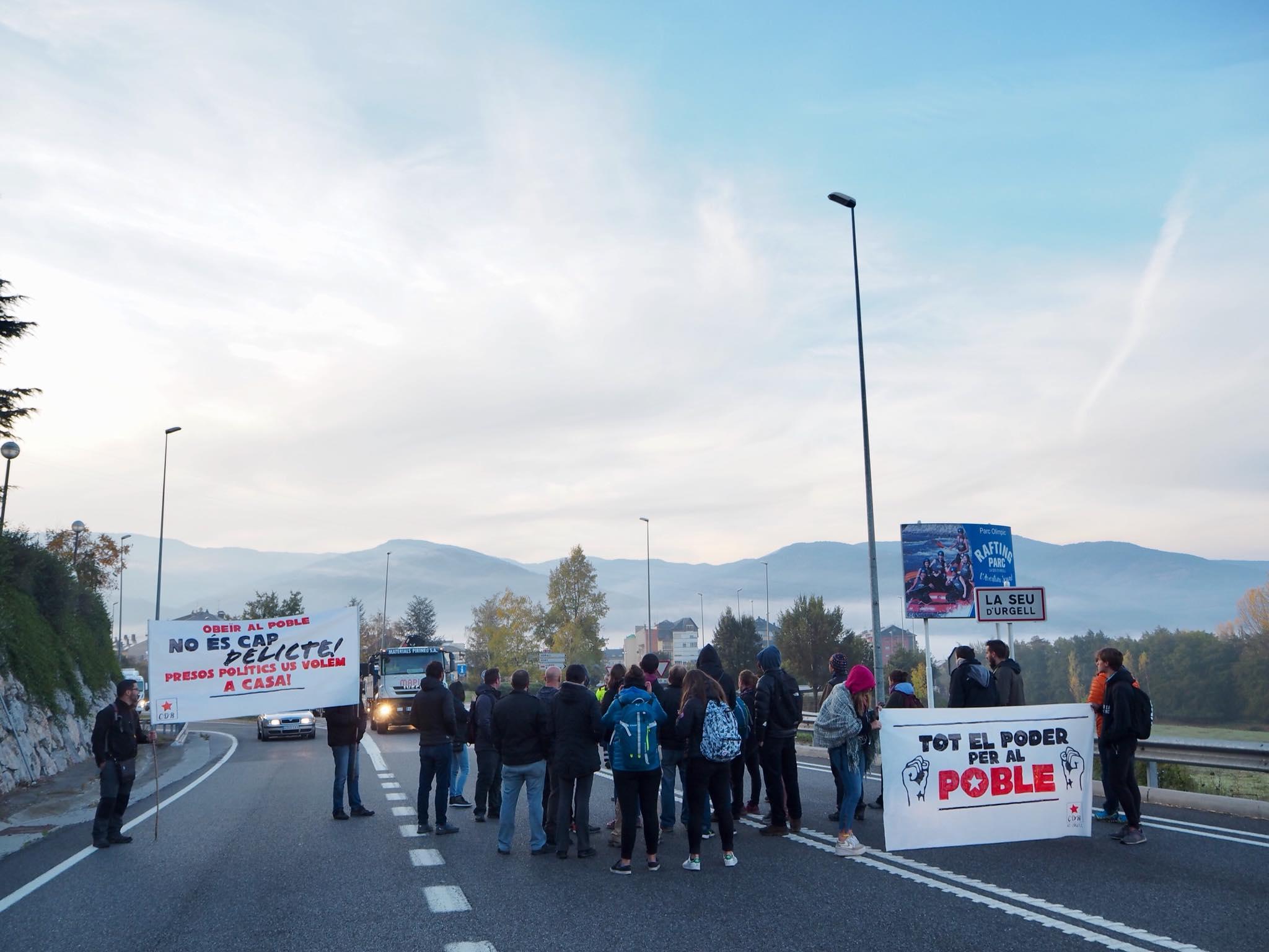 El tancament demà de l'N-145 deixarà incomunicada Andorra amb la Seu