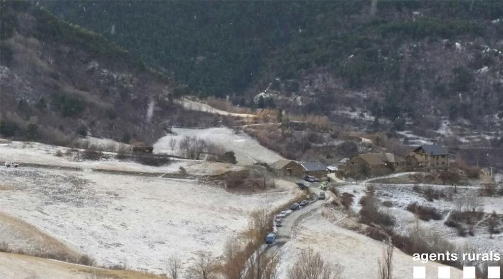 Denuncien  14 vehicles que circulaven sense permís al Parc Natural de l'Alt Pirineu