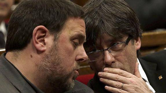 JxCat no contempla que Junqueras sigui president