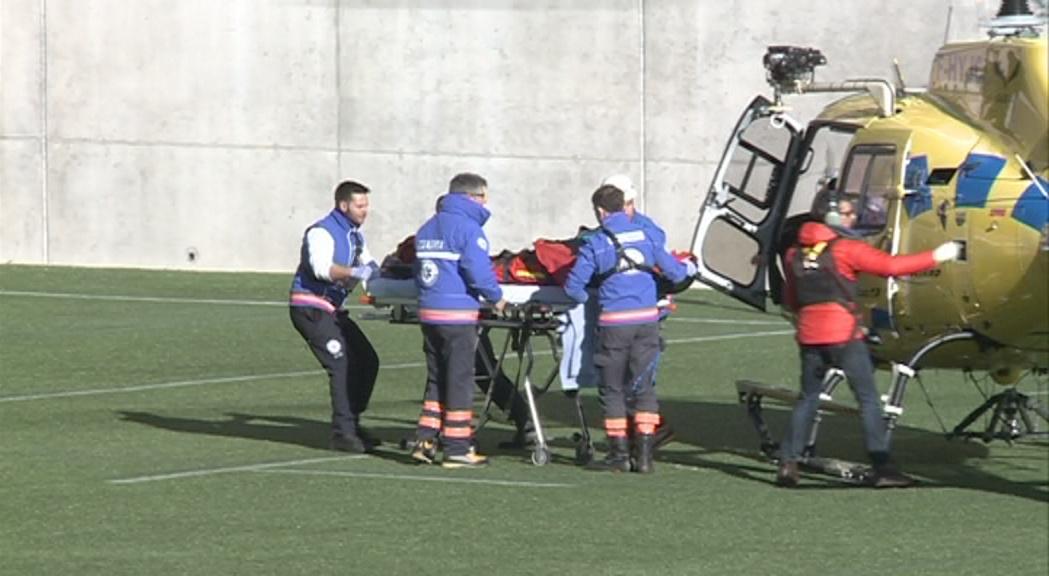 En estat greu la dona de Sabadell accidentada a Naturlandia