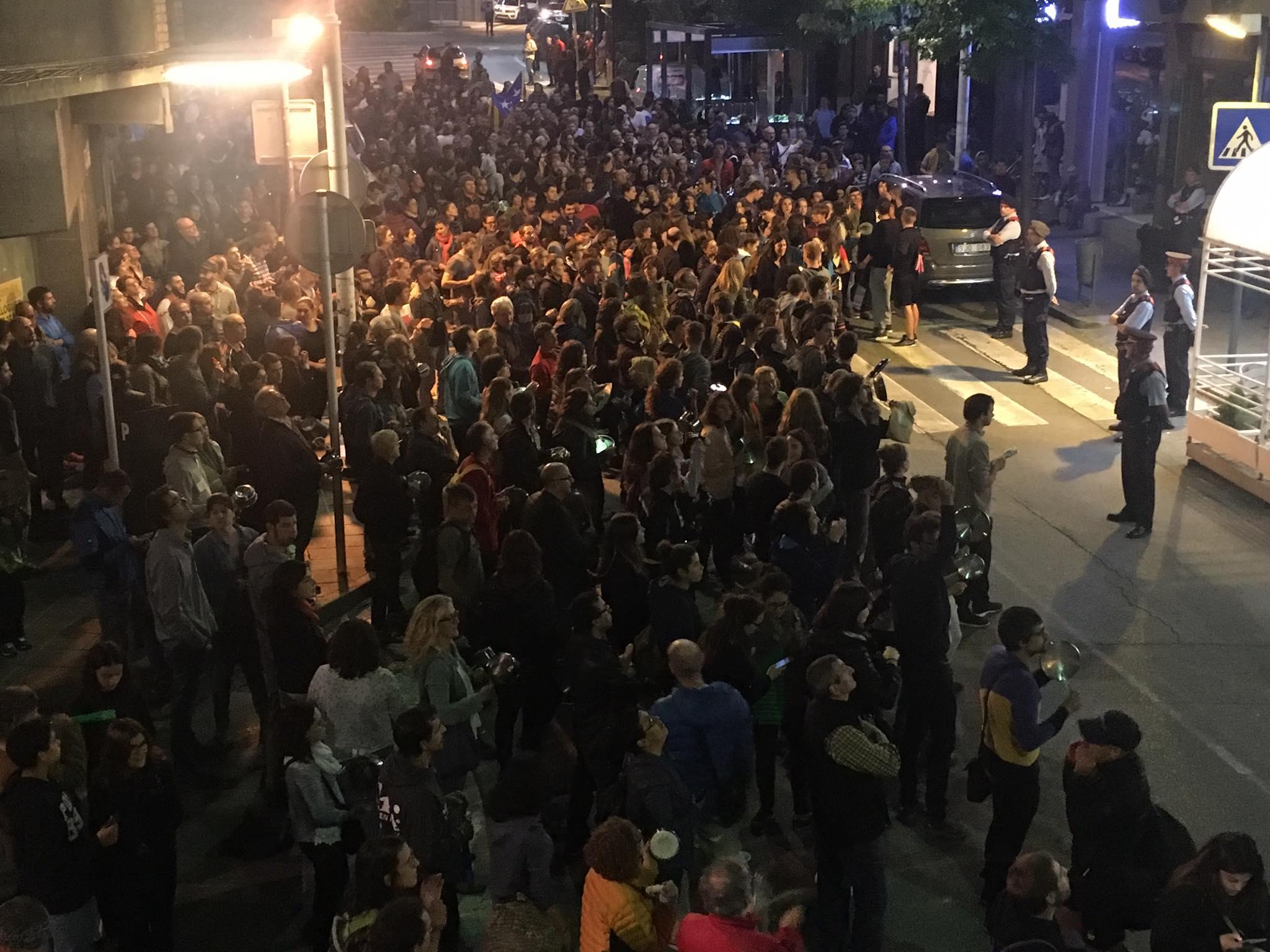 Ofensiva policial contra els participants en els escarnis de l'1-O