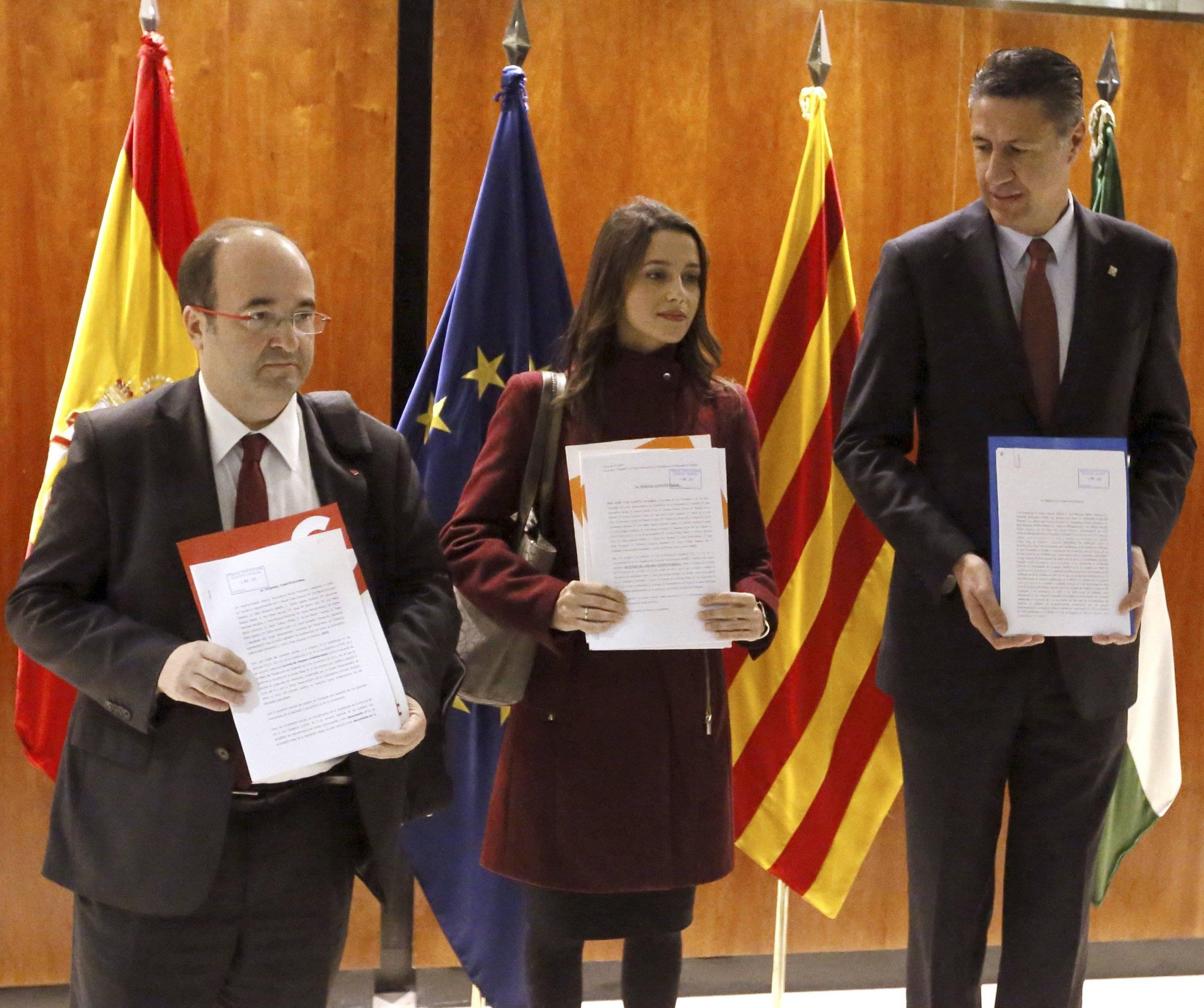 Oposició a la investidura telemàtica de Puigdemont