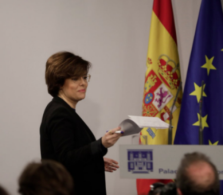 Sáenz de Santamaría dóna per liquidat Puigdemont