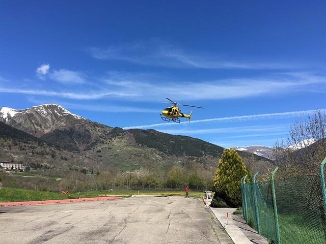 L'heliport de Vielha vol ser un referent al Pirineu amb la seva ampliació