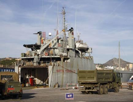 Desembarquen tropes de Ceuta a Tarragona