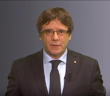 Puigdemont cedeix a la presidència simbòlica