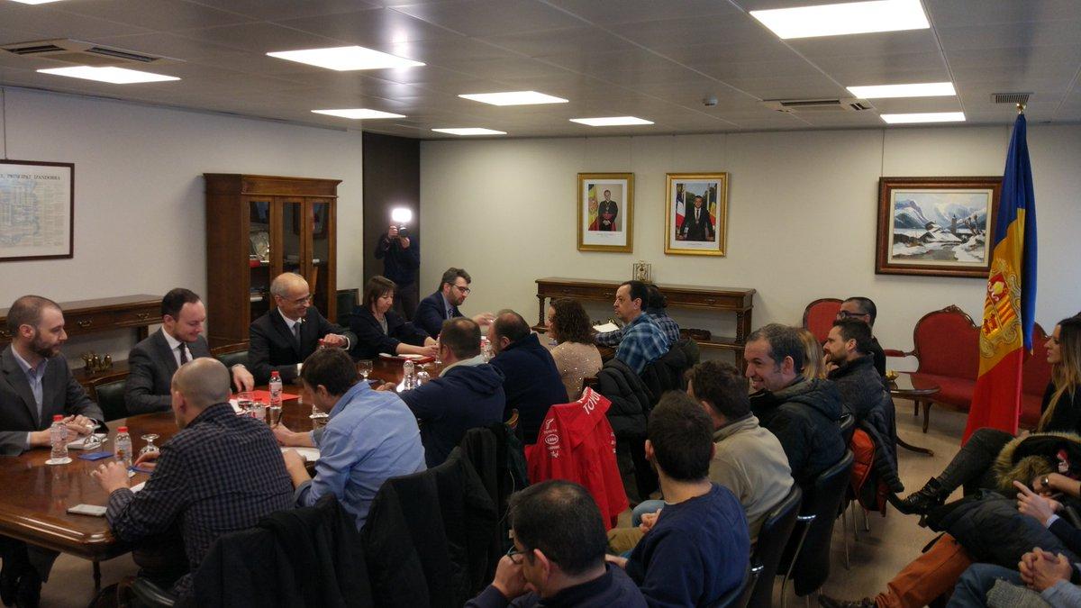 'El decret de mínims' per minimitzar la vaga dels funcionaris d'Andorra
