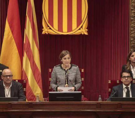 El TC anul·la l'acord de Mesa de la llei del referèndum