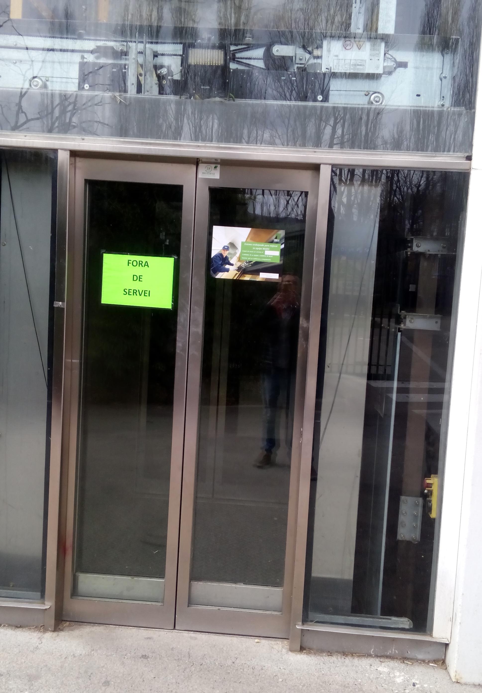 Nova avaria de l'ascensor del Parc del Segre i més de 10.000 euros en reparacions