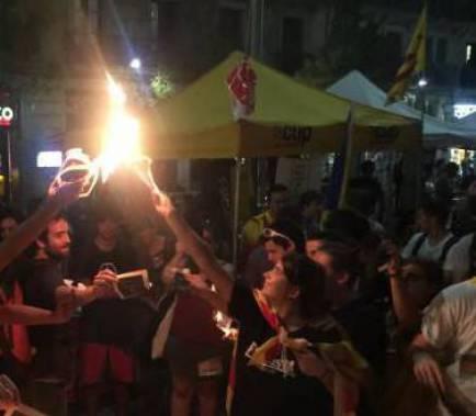 Estrasburg dicta que cremar fotos del Rei és llibertat d'expressió