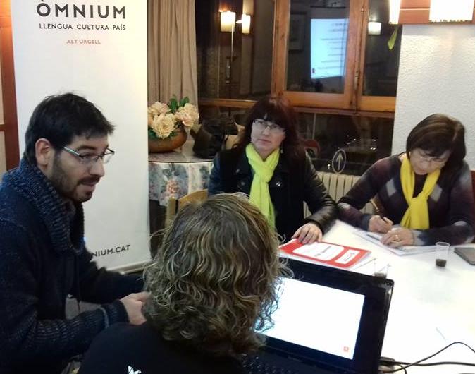 Òmnium de l'Alt Urgell va dedicar part del seu pressupost al referèndum de l'1-0