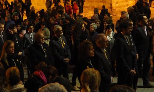 """El Bisbe Vives prega pels """"presos polítics"""" a la missa del Diumenge de Rams"""