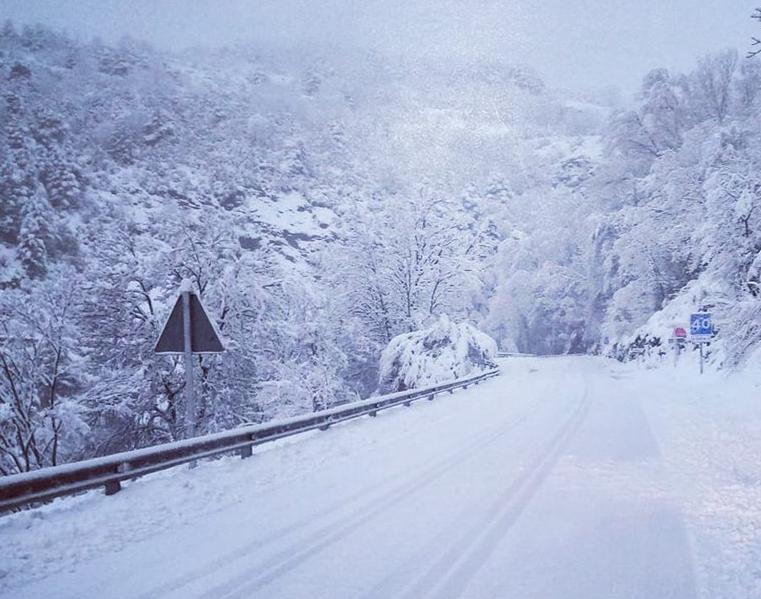 Pluja, neu, risc elevat d'allaus i rius força plens al Pirineu