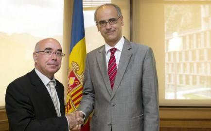 L'ambaixador d'Espanya a Andorra  deixa el càrrec