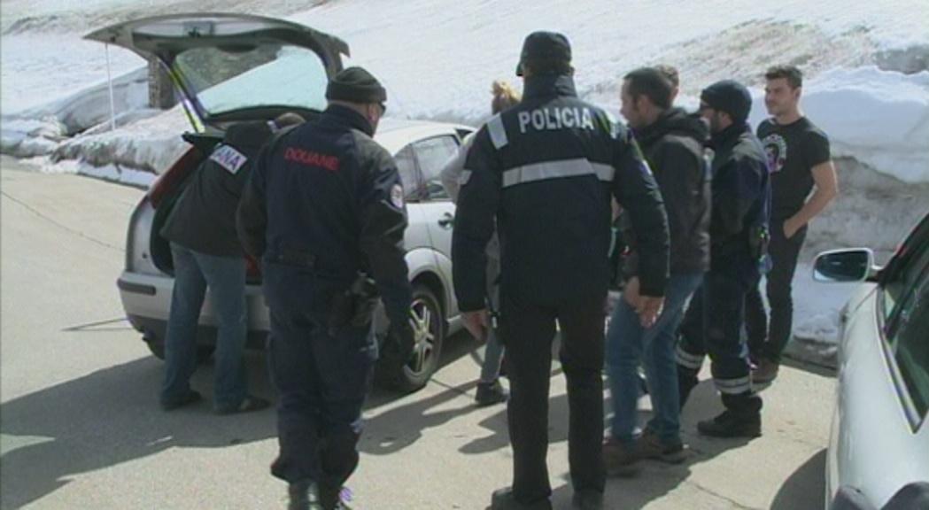 França colla des d'avui una mica més Andorra en la lluita contra el contraban