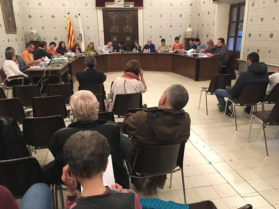 El PSC de la Seu vota a favor de denunciar 'la criminalització dels  CDR per part de l'Estat'