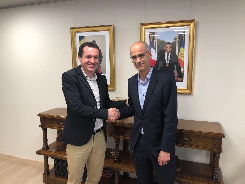 Ordeig demana a Martí un tracte preferent d'Andorra amb el Pirineu francès i català
