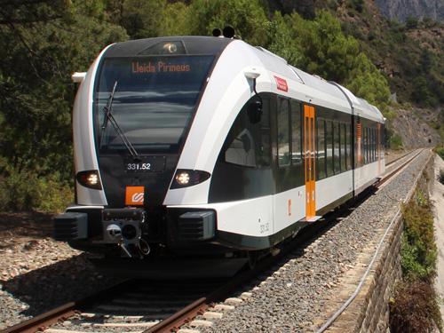 Tall de servei a la línia Lleida – La Pobla