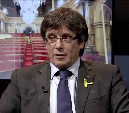 Un partit alemany vol Puigdemont com a candidat a les europees