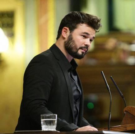 ERC s'apunta a la moció contra Rajoy