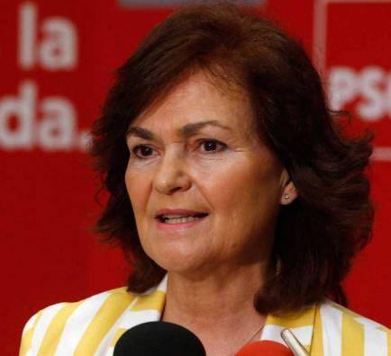 Carmen Calvo, vicepresidenta amb Sánchez