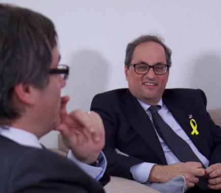 """Puigdemont diu al """"rei del 3-O"""" que """"no és benvingut a Catalunya"""""""