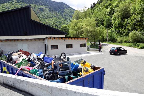 En marxa el nou sistema de gestió de la deixalleria de Vielha