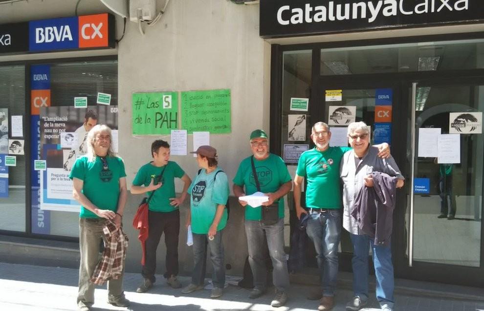 Sis famílies del Pallars a punt del desnonament