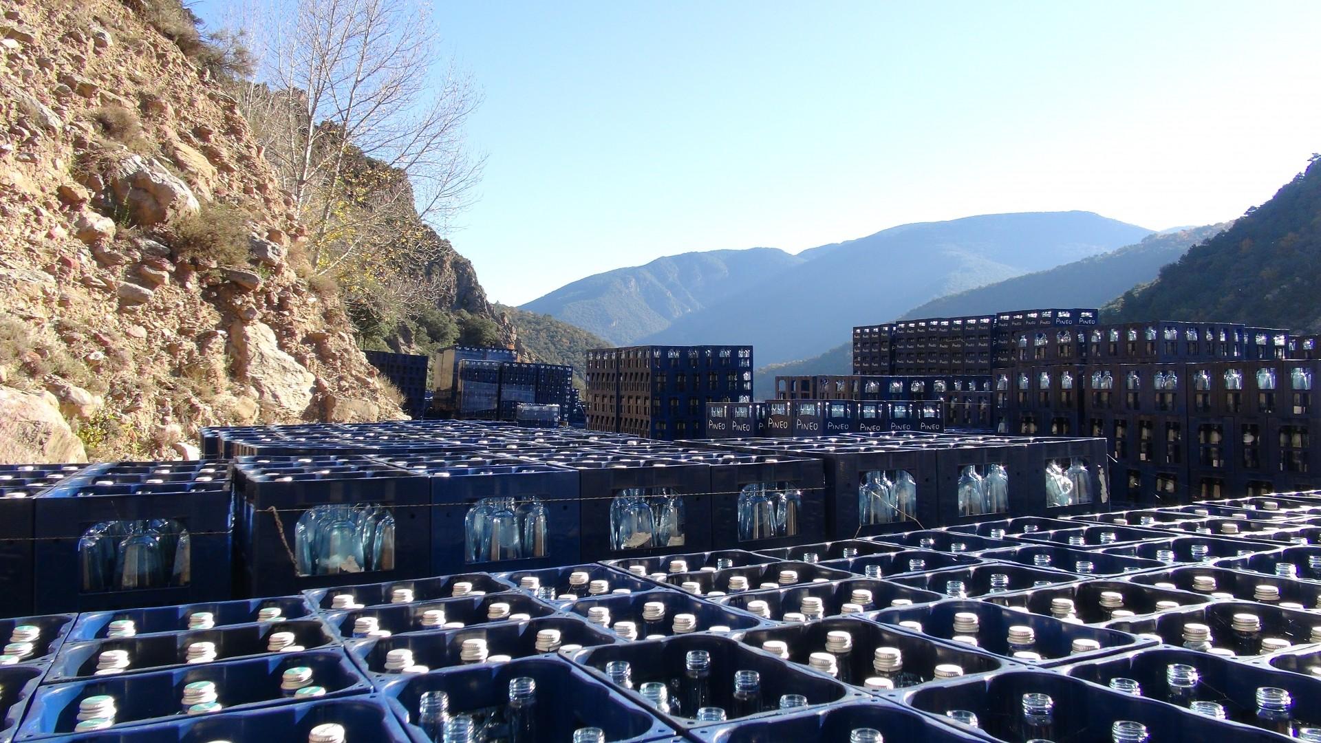 ERC 's'oblida' en la seva moció de l'aigua mineral Pineo d'Estamariu