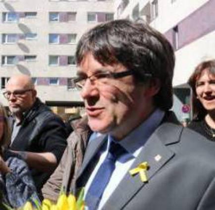 La Fiscalia alemanya demana l'extradició de Puigdemont