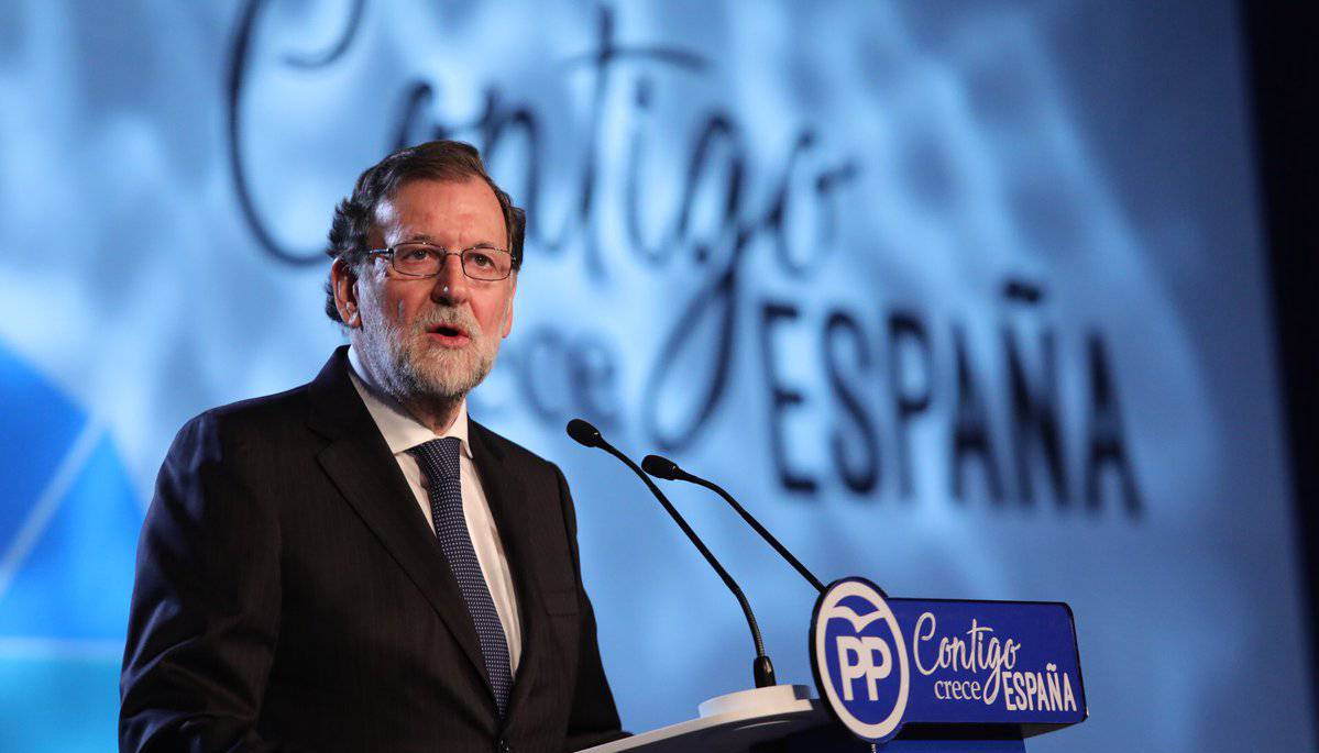 Rajoy plega de la presidència del PP