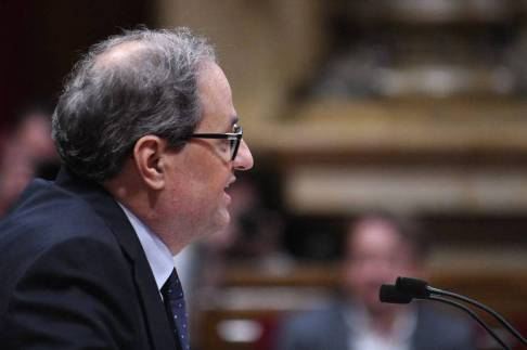 """Torra recorda que el PSOE és """"còmplice de la repressió"""""""