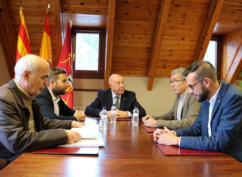Els aranesos aposten per la Constitució espanyola però sense marxar de Catalunya