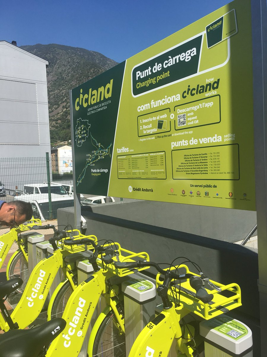 Presenten una demanda pel concurs de les bicis elèctriques a Andorra