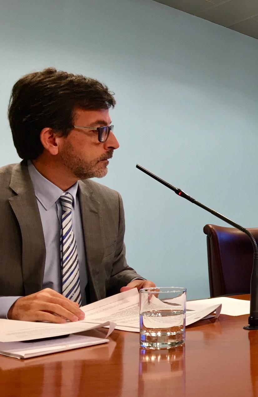 """'Cas Spai': El ministre Cinca afirma que """"no es poden comparar peres amb pomes"""""""