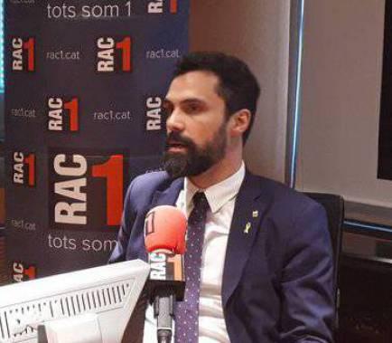 Torrent acusa JxCat de mentir per esgarrapar vots a ERC
