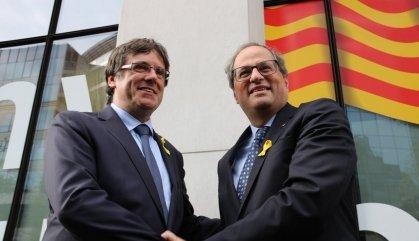 Puigdemont torna a Bèlgica amb ganes de viatjar